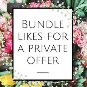 Other - Bundle for a private offer! 😊